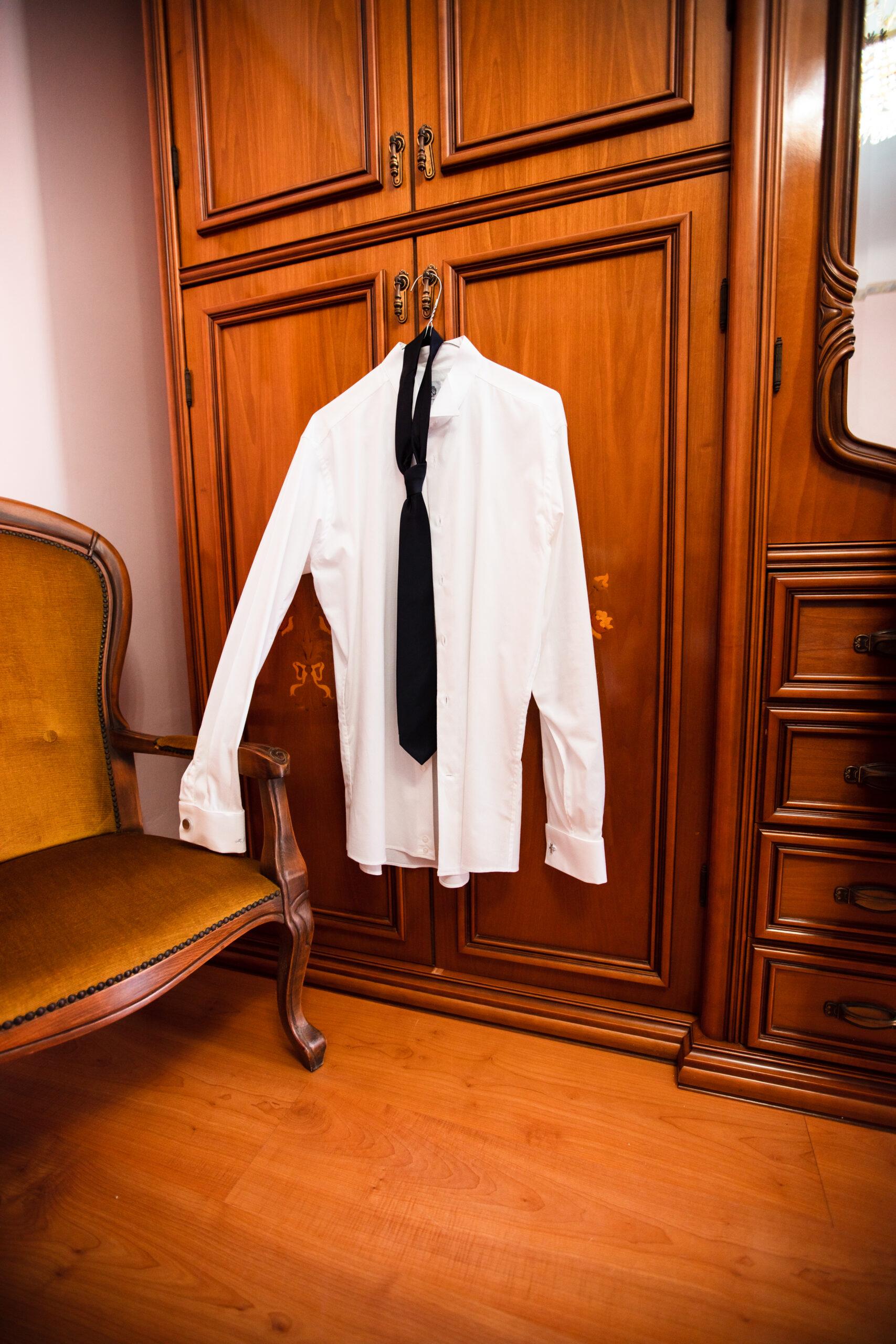 la camicia da sposo
