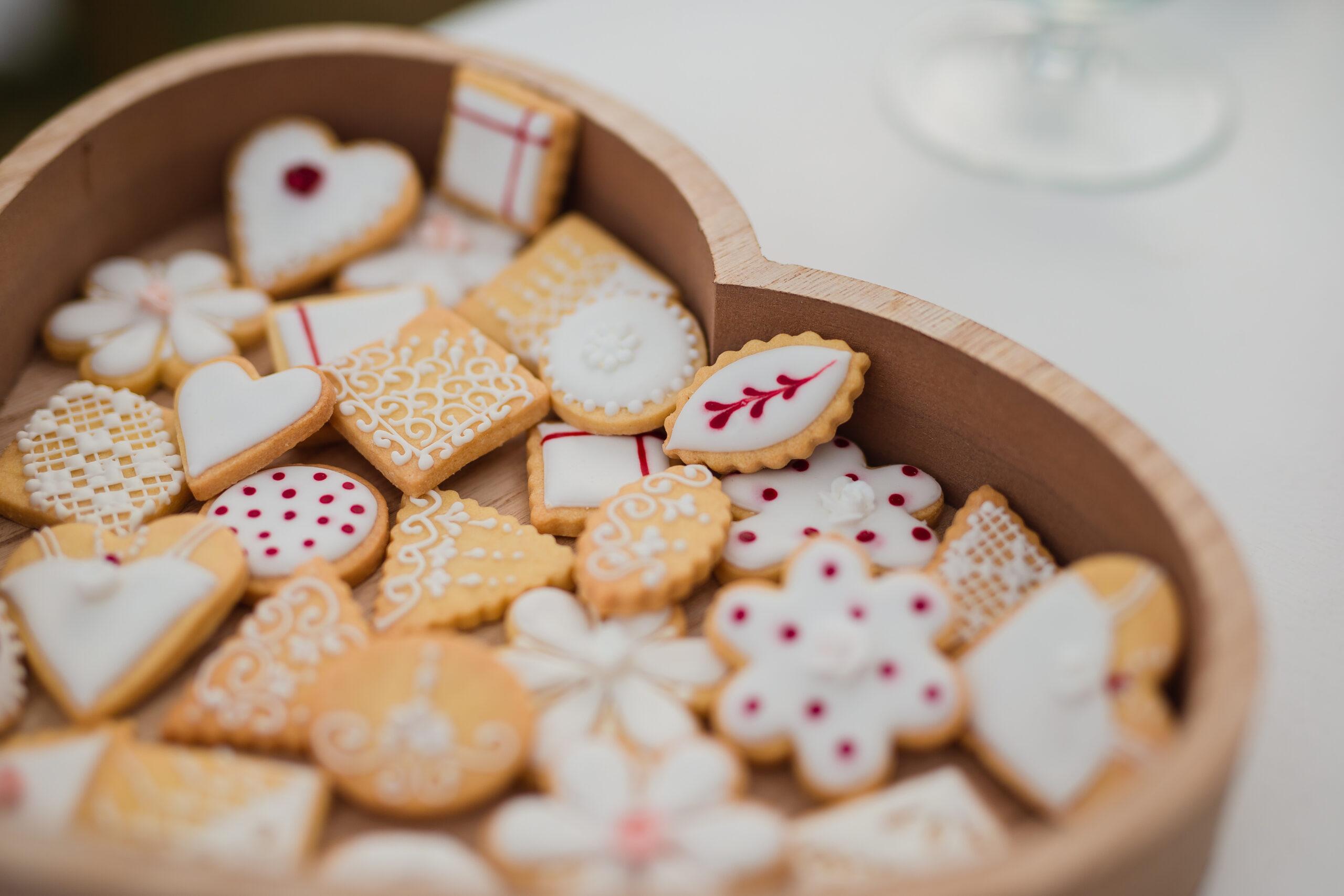 biscotti al ricevimento